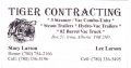 Tiger Contracting Ltd.